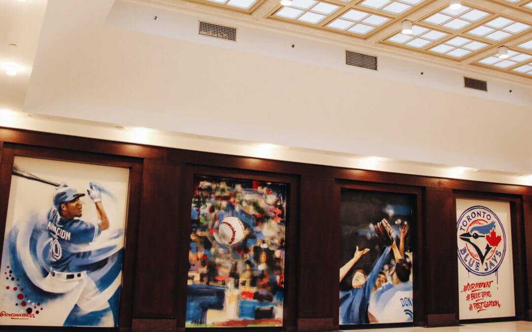 Toronto Blue Jays Mural—
