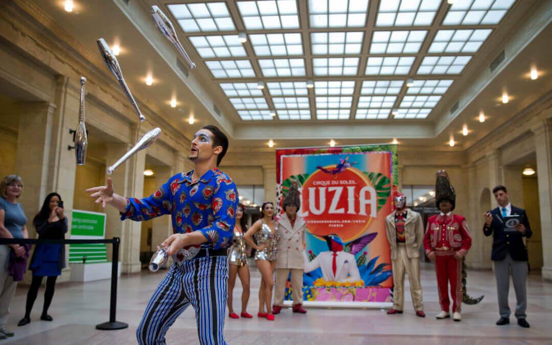 Cirque du Soleil's Rudolf Janecek sets GUINNESS WORLD RECORDS™—