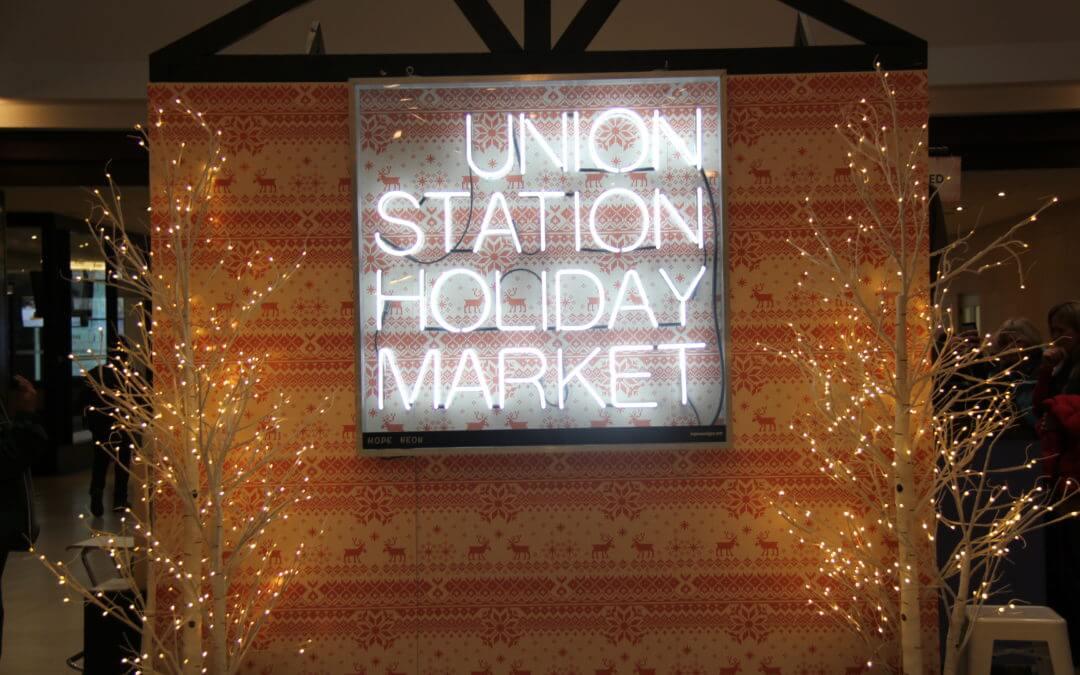 Union Station Holiday Market Returns—