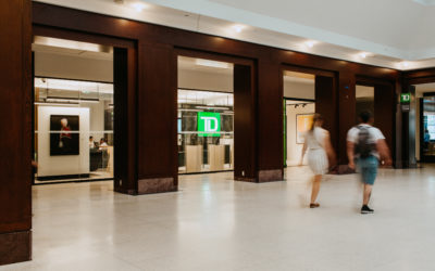 Introducing TD's new Union Station Visa Infinite Credit Card Lounge
