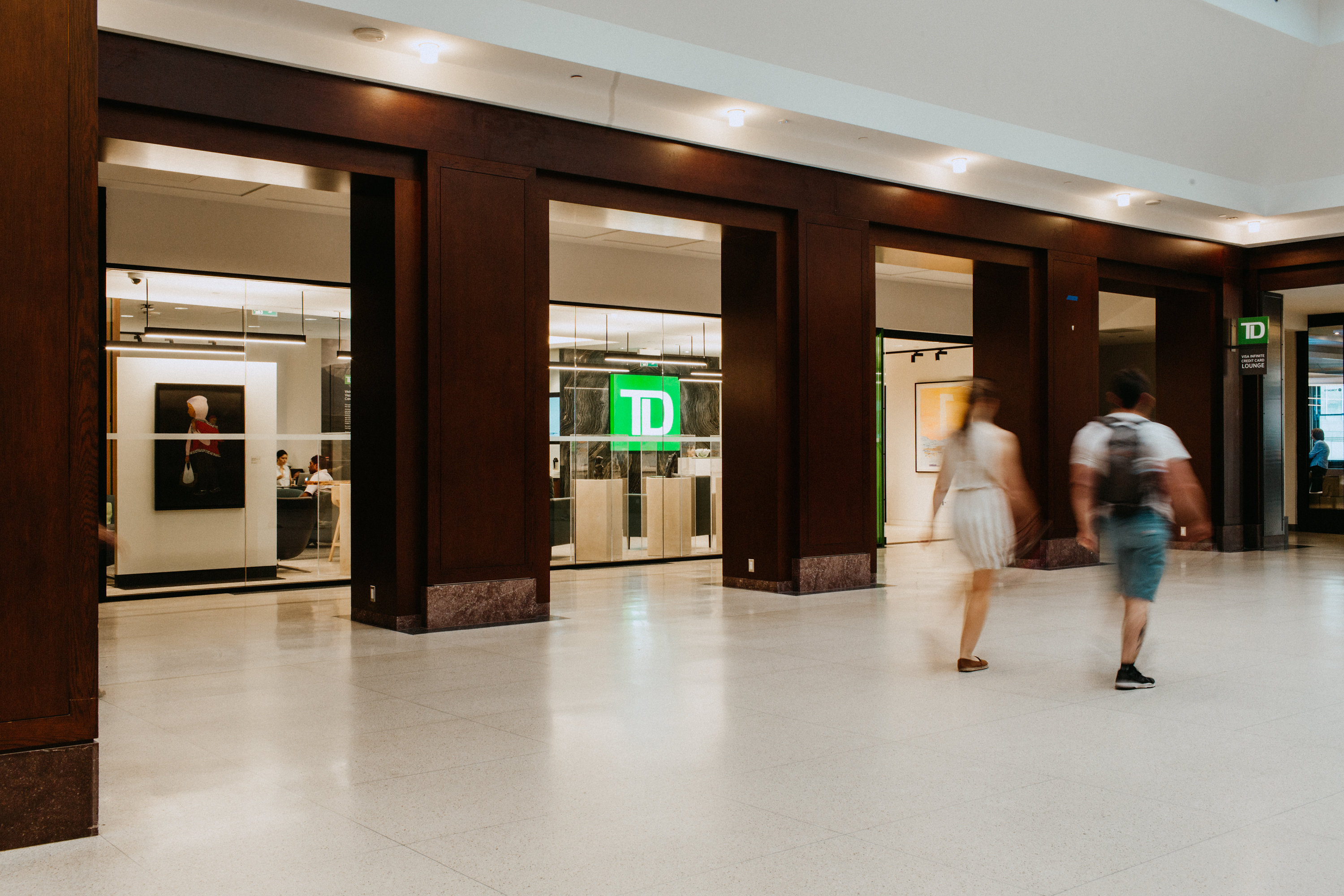 Introducing The New Td Visa Infinite Credit Card Lounge At Union