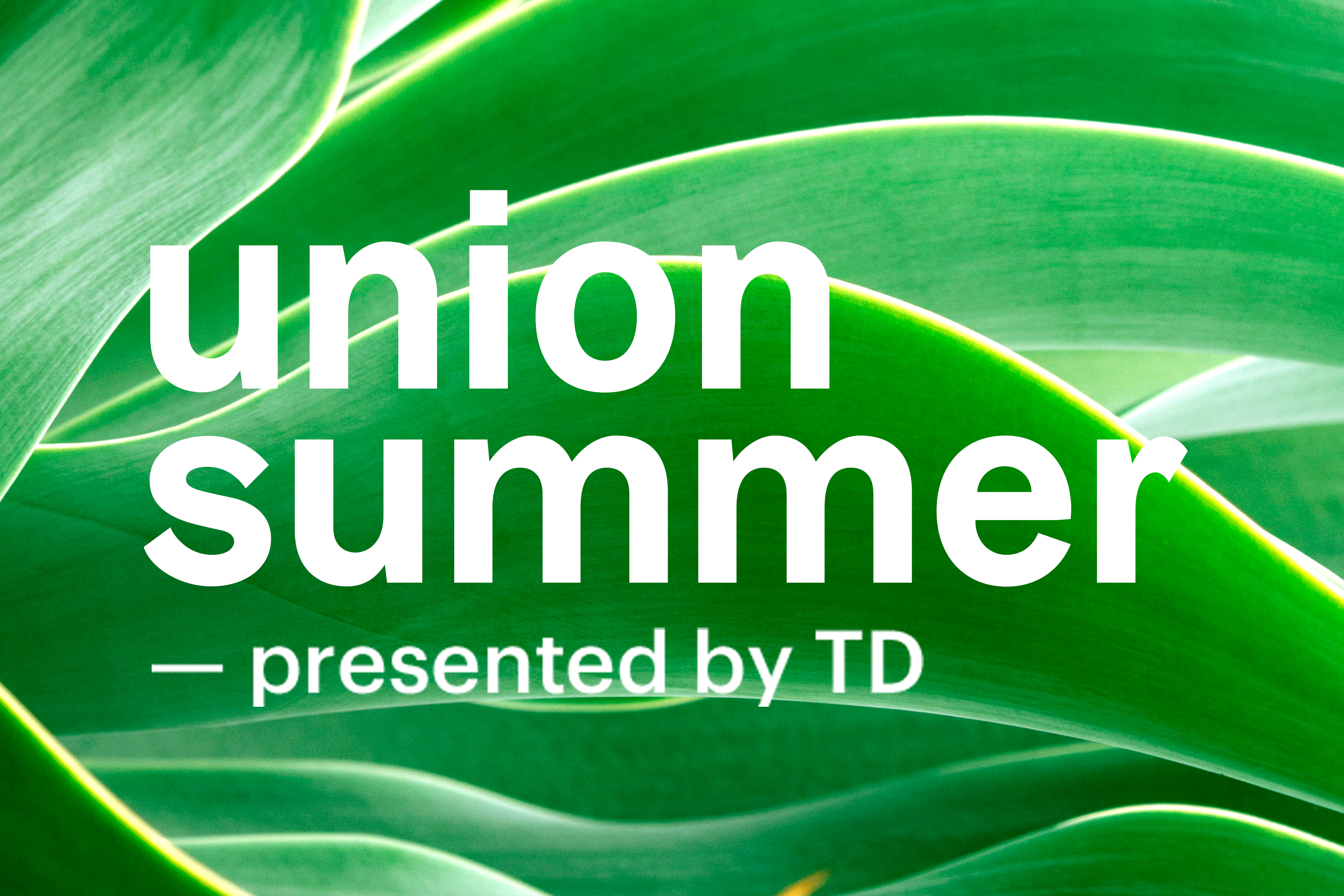 Union Summer Presented by TD | Union