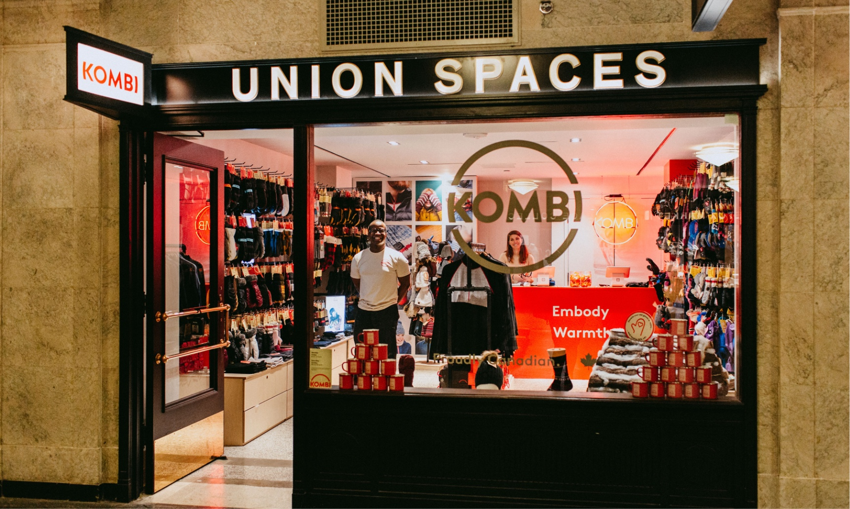 Union Spaces: Retail pop up space